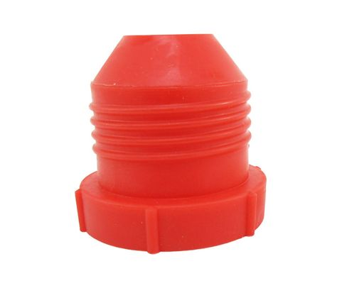 Caplug PD-110 Red 1-12 Threaded Plastic Dust & Moisture Plug