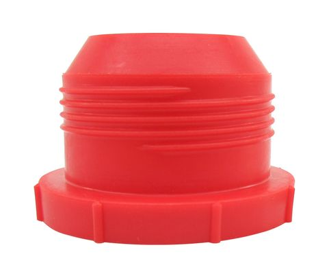 Caplug PD-180 Red 1-1/2-12 Threaded Plastic Dust & Moisture Plug