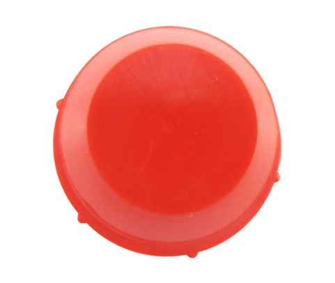"Caplug PD-240 Red 1-1/2"" Threaded Plastic Dust & Moisture Plug"