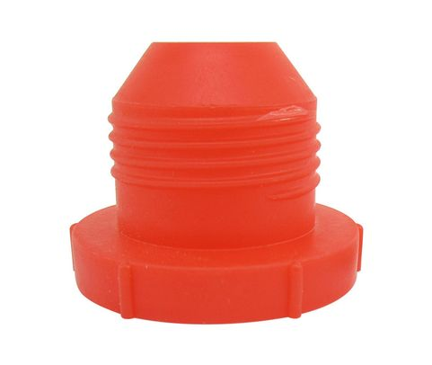 "Caplug PD-HF-16 Red 3/4"" Threaded Plastic Dust & Moisture Plug"