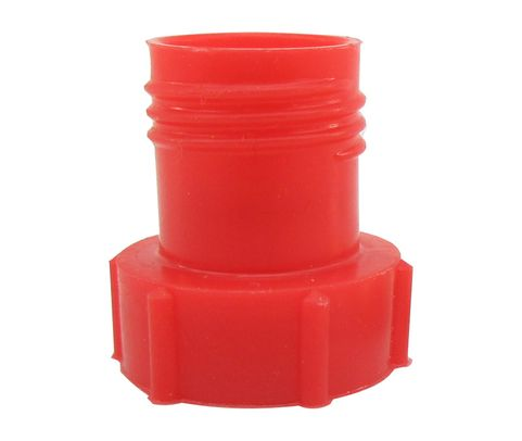 Caplug PDE-5 Red 1/2-20 Flareless Tube & Nut Threaded Plastic Plug