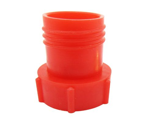 Caplug PDE-6 Red 9/16-18 Flareless Tube & Nut Threaded Plastic Plug