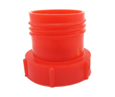 Caplug PDE-8 Red 3/4-16 Flareless Tube & Nut Threaded Plastic Plug