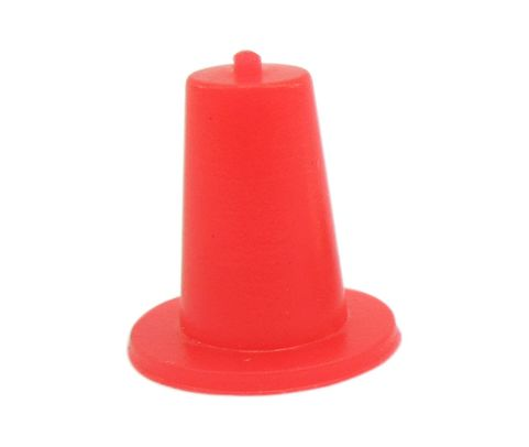 "Caplug T-0 Red .173"" Tapered Dust & Moisture Cap"