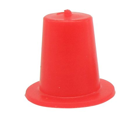 "Caplug T-1 Red .236"" Tapered Dust & Moisture Cap"