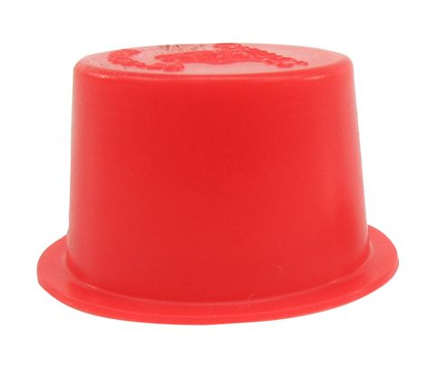 "Caplug T-10 Red .75"" Tapered Dust & Moisture Cap"