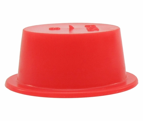 "Caplug T-10S Red .748"" Tapered Dust & Moisture Cap"
