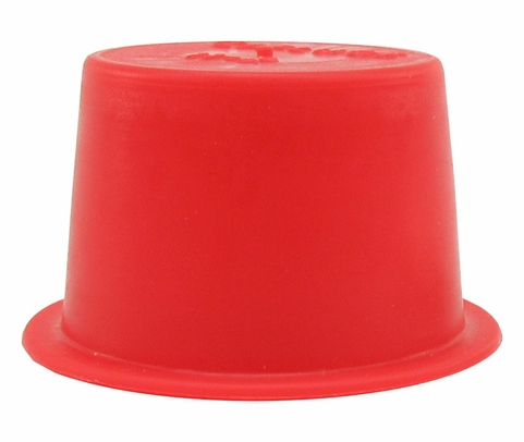 "Caplug T-11X Red .815"" Tapered Dust & Moisture Cap"