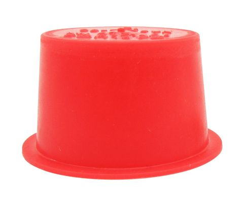 "Caplug T-12 Red .866"" Tapered Dust & Moisture Cap"