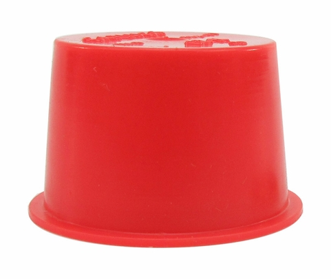 "Caplug T-12X Red .915"" Tapered Dust & Moisture Cap"