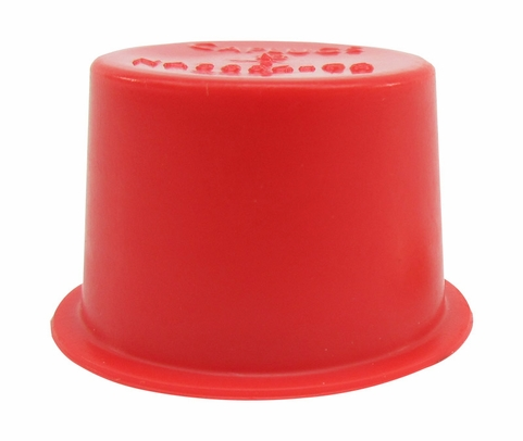 "Caplug T-13 Red .964"" Tapered Dust & Moisture Cap"