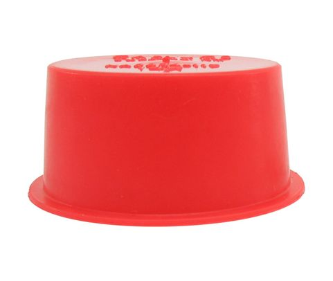 "Caplug T-14X Red 1.175"" Tapered Dust & Moisture Cap"