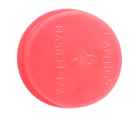 "Caplug T-15 Red 1.224"" Tapered Dust & Moisture Cap"