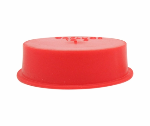 "Caplug T-15S Red 1.285"" Tapered Dust & Moisture Cap"