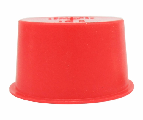 "Caplug T-15X Red 1.235"" Tapered Dust & Moisture Cap"