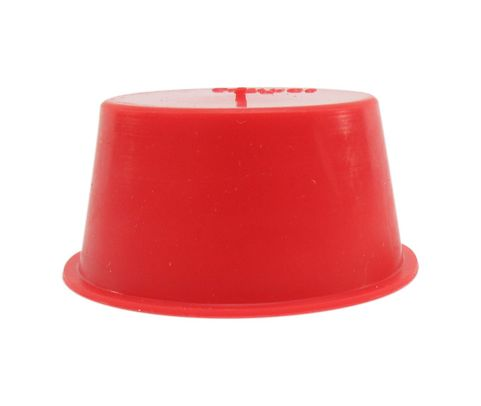 "Caplug T-17A Red 1.239"" Tapered Dust & Moisture Cap"