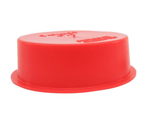 "Caplug T-17S Red 1.513"" Tapered Dust & Moisture Cap"