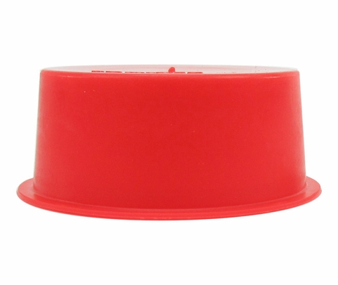 "Caplug T-18X Red 1.63"" Tapered Dust & Moisture Cap"