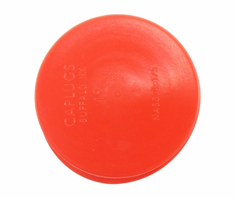 "Caplug T-19 Red 1.75"" Tapered Dust & Moisture Cap"