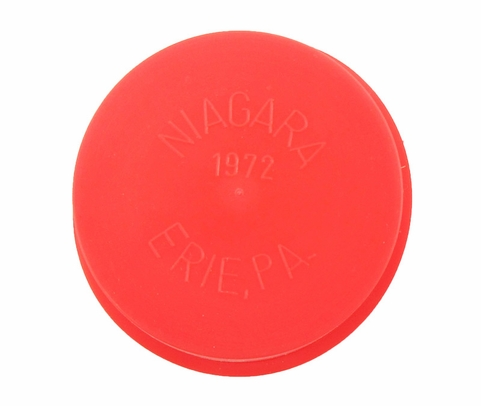 "Caplug T-1972 Red 1.72"" Tapered Dust & Moisture Cap"