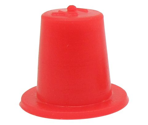 "Caplug T-1X Red .267"" Tapered Dust & Moisture Cap"