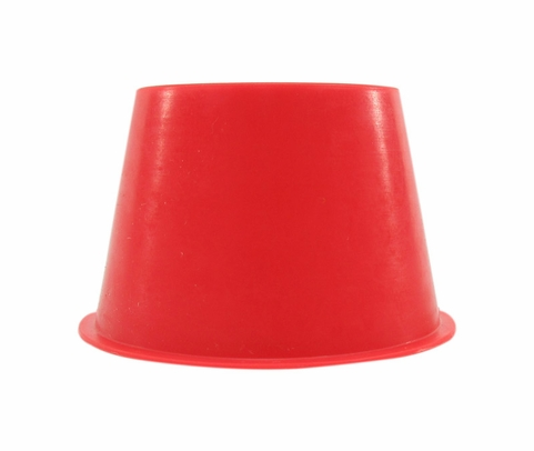 "Caplug T-20A Red 1.44"" Tapered Dust & Moisture Cap"
