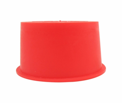 "Caplug T-254-S Red 1.447"" Tapered Dust & Moisture Cap"