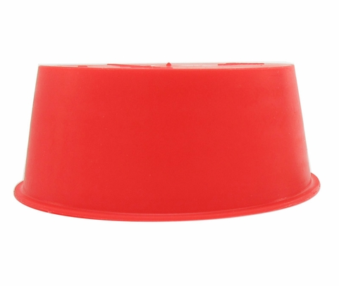 "Caplug T-25A Red 2.125"" Tapered Dust & Moisture Cap"