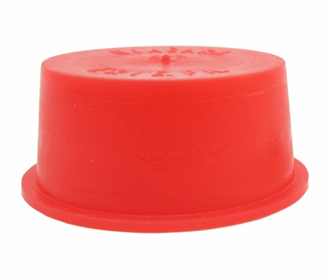 "Caplug T-277 Red .9555"" Tapered Dust & Moisture Cap"