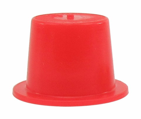 "Caplug T-4 Red .419"" Tapered Dust & Moisture Cap"