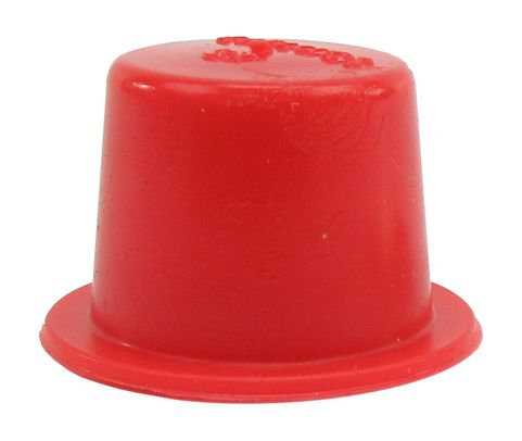 "Caplug T-5X Red .5"" Tapered Dust & Moisture Cap"