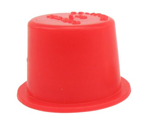 "Caplug T-6X Red .55"" Tapered Dust & Moisture Cap"