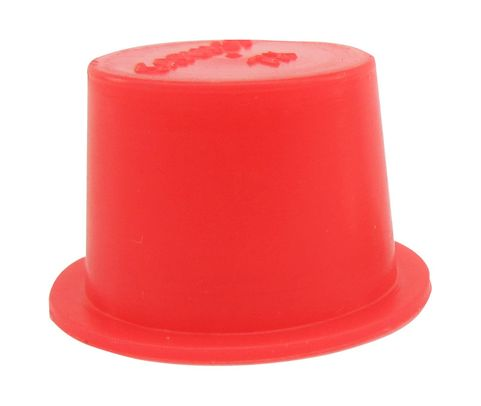 "Caplug T-7X Red .61"" Tapered Dust & Moisture Cap"