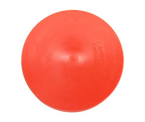 "Caplug T-96A Red 3.27"" Tapered Dust & Moisture Cap"