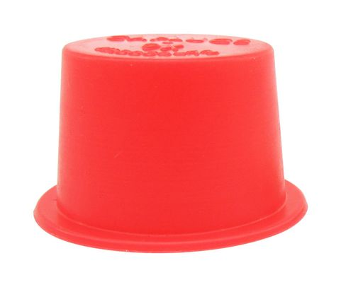 "Caplug T-9X Red .725"" Tapered Dust & Moisture Cap"