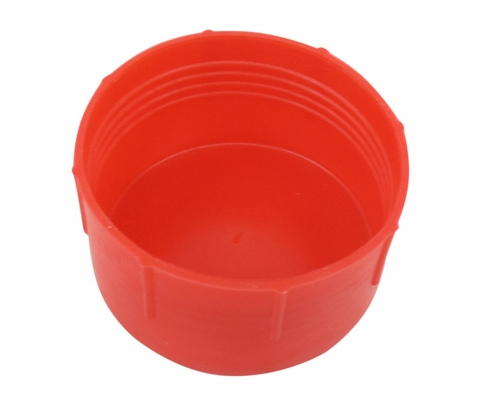 Caplug CD-20 Red 1-5/8-12 Threaded Plastic Dust & Moisture Cap