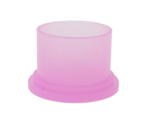 "Caplugs SEC-10 Pink 5/8"" Static Dissipative Cap for Threaded Connectors"