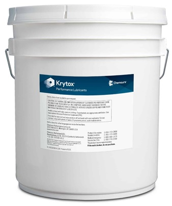 Chemours� Krytox� 283 AD Rust Inhibited Aerospace Grease - 20 Kg Pail