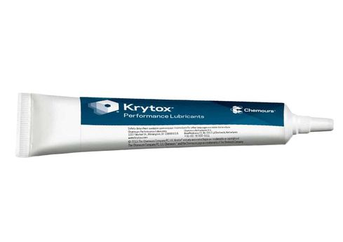 Chemours™ Krytox™ GPL 205 White PTFE Thickened Standard General-Purpose Grease - 2 oz Tube