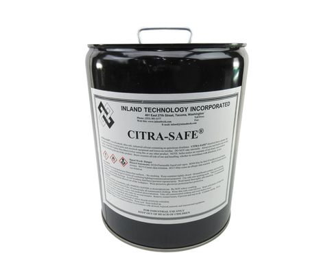 Inland Technology Citra-Safe Cleaning Solvent Compound - 5 Gallon Pail