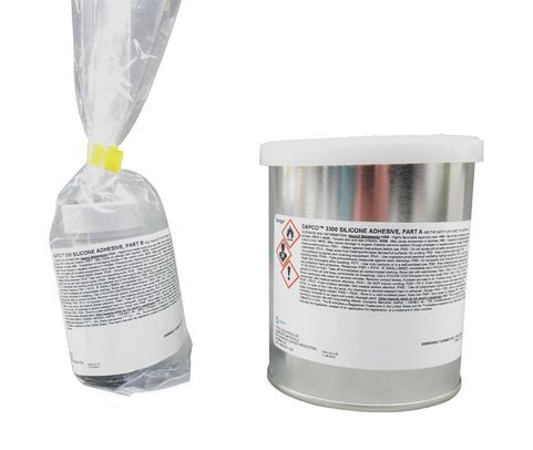 DAPCO® 3300 Clear D Aircraft Standard Spec Low Viscosity Silicone Adhesive - Pint Kit