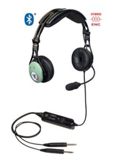 David Clark 43105G-01 Model DC PRO-X2 Bluetooth� Hybrid ENC Stereo/Mono 7' Straight Cord Standard Dual Plugs Aircraft Headset