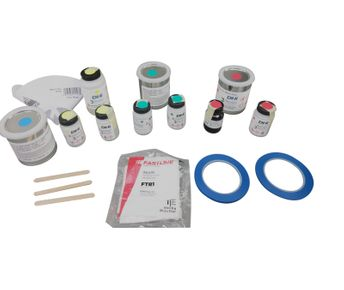 DHi® AGPK100 AfterGlo® High Performance Photoluminescent Propeller Paint Kit