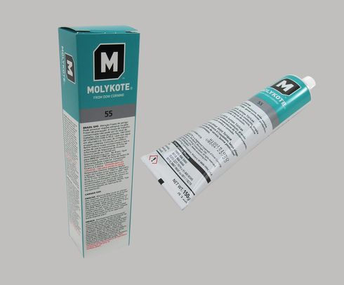 DOW� MOLYKOTE� 55 White O-Ring Grease - 150 Gram (5.3 oz) Tube
