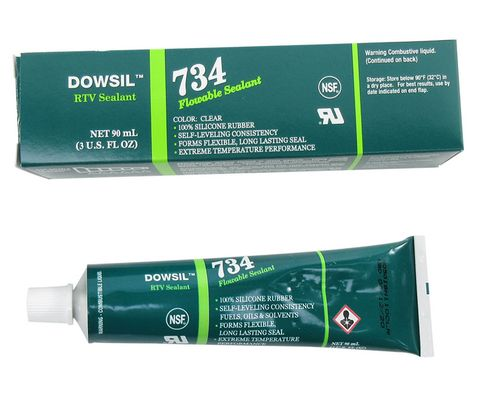 DOW� 4102963 DOWSIL� 734 Clear Flowable Sealant - 90 mL (3 oz) Tube