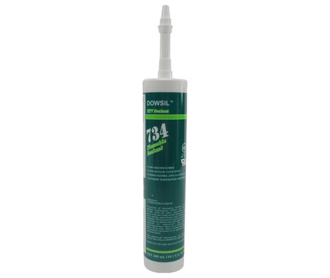DOW� 4102962 DOWSIL� 734 Clear Flowable Sealant - 300 mL (10.1 oz) Cartridge