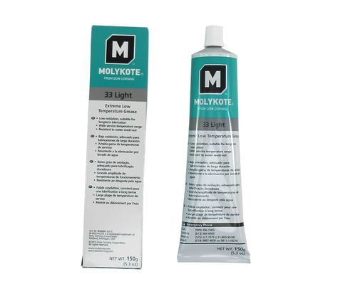 DOW� 4016015 MOLYKOTE� 33 Light Off-White Extreme Low Temperature Grease - 150 Gram (5.3 oz) Tube
