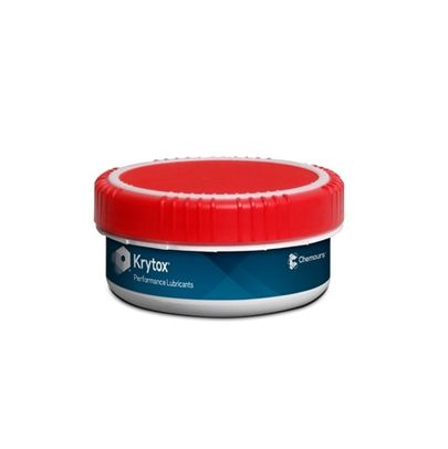 Chemours� Krytox� 240 AB White Aircraft Instrument, Fuel & Oxidizer Resistant Grease - 0.5 Kg Jar