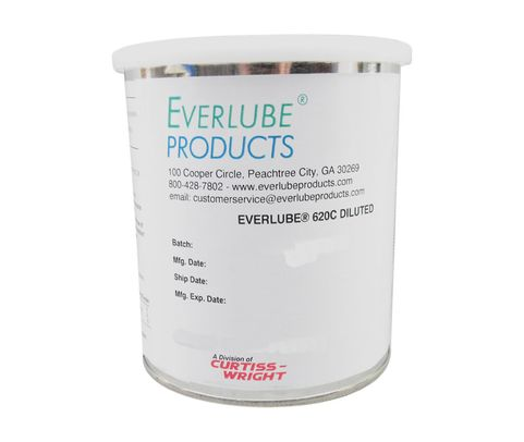 Everlube� 620C Diluted Gray/Black Everlube� Standard Spec Thermally Cured MoS2/Graphite Based Solid Film Lubricant - Quart Can