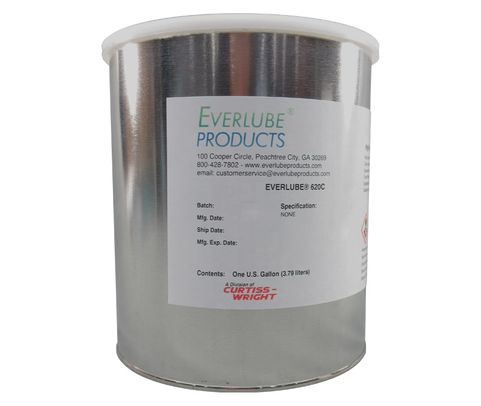 Everlube� 620C 40% Concentrate Gray/Black BMS 3-8F Type I Spec Thermally Cured MoS2/Graphite Based Solid Film Lubricant - Quart Can